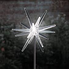 exhart solar star garden light stake