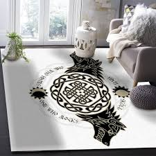 Hot Offer 75faa9 Viking Wolf Totem Pattern Carpets For Living Room Bedroom Area Rug Kids Room Play Mat 3d Printed Home Large Carpet Cicig Co