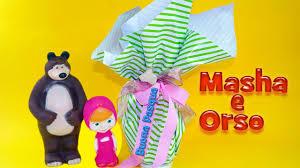 Masha e Orso Italiano Buona Pasqua con il Maxi uovo - Kinder ...