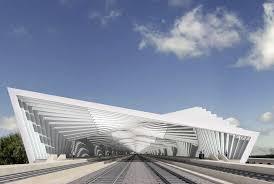 Reggio Emilia Stazione Mediopadana / Reggio Emilia (Gallery) - Santiago  Calatrava – Architects & …   Train station architecture, Architecture  exterior, Architecture