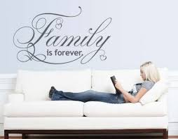 Family Is Forever Wall Decal Quote Wall Quotes Decals Wall Decals Family Wall Decals