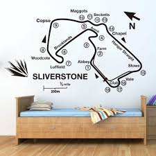 Race Track Wall Decal For Childrens Bedroom Decoration Playroom Or Boys Nursery Room Decor Children S Room Decor