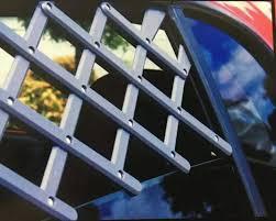 Pet Car Fence Window Security Lattice Telescopic Fence Retractable Pet Safety Barrier Fence Universal Auto Dog