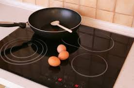 cleaning spills on a smooth top stove