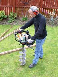 Post Hole Borer Hire And Rent Hire Gardening Accessories With Tool Hire In Edinburgh Glasgow And Midlothians From Martin Plant Hire