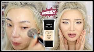 new make up for ever matte velvet skin
