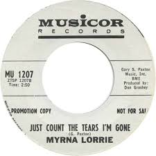 45cat - Myrna Lorrie - Your Special Day (Happy Birthday Mom) / Just Count  The Tears I'm Gone - Musicor - USA - MU 1207