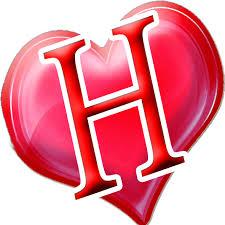 صور حرف H خلفيات حرف H احساس ناعم