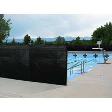 Boen Snow Fencing Black Privacy Fence Screen Netting 6 X 150 Ft Shade Reinforced Hem