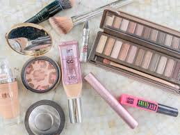 cur makeup routine about
