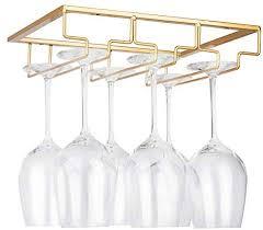 under cabinet stemware wine glass