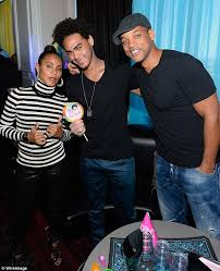 Will Smith's wife Jada keeps a protective hand on him as they sit next to  his ex Sheree Fletcher | Daily Mail Online
