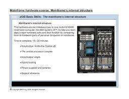 mainframe s internal structure