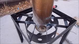 diy propane gas garage heater part 1