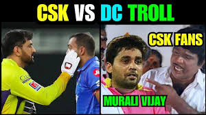 CSK VS DC | CSK VS DC HIGHLIGHTS TROLL ...