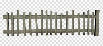 D Fences Gray Wooden Fence Transparent Background Png Clipart Hiclipart