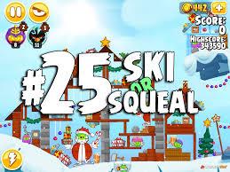 Angry Birds Seasons Ski or Squeal Walkthrough Videos 3 Star ...