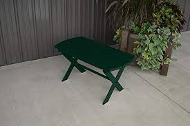 outdoor folding coffee table amish made