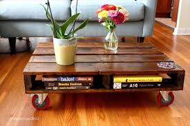 pallet coffee table for living room