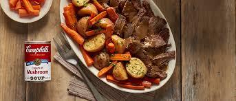 easy slow cooker savory pot roast