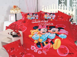 Mickey Minnie Mouse Bedding Set For Kids Bedroom Decor 100 Cotton Bedclothes Twin Duvet Cover Boy Home Textile Bedspread Girls Bedding Sets Aliexpress