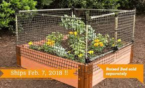 Stack Extend Animal Barrier Garden Netting Garden Supplies Garden Beds