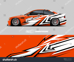 Race Car Wrap Decal Designs Abstract Background For Racing Livery Or Daily Use Car Vinyl Sticker Full Vector Car Wrap Decal Design Car Wrap Design