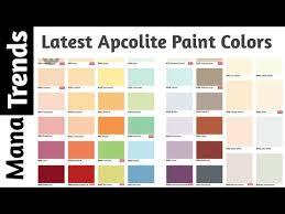 latest paint charts new asianpaints