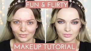 flirty makeup tutorial mypaleskin