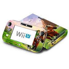 Amazon Com The Legend Of Zelda Ocarina Of Time Decorative Decal Cover Skin For Nintendo Wii U Console And Gamepad Video Games