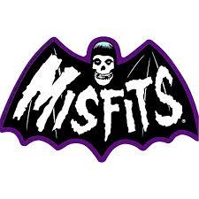 C D Visionary Misfits Bat Fiend Sticker Music Arts