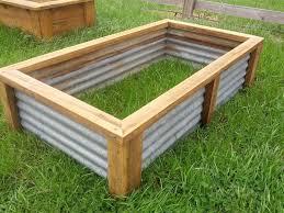 raised vegetable garden bed planter