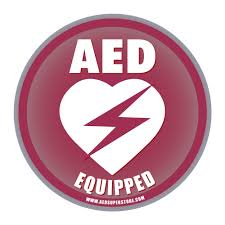 Aed Equipped Facility Cling Window Decal 4 Aed Superstore