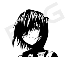 Elfen Lied Lucy Vinyl Decal Sticker Elfen Lucy Sticker Elfen Lucy Decal Anime Manga Car Decals Anime Laptop Decals Anime Holo In 2020 Vinyl Decals Vinyl Decal Stickers Anime Decals