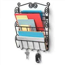 best key and mail holder for wall