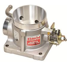Ford Mustang 5.0L 65mm Throttle Body - 1986-'93 Satin