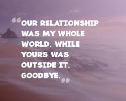 break up quotes for him coming directly from a broken heart