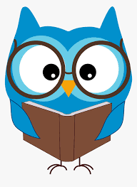 Reading Owl Clip Art - Owl Reading Clipart, HD Png Download - kindpng