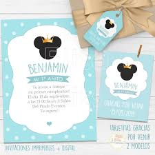 Kit Imprimible Mickey Mouse Principe Decoracion Candy Bar Nene