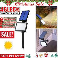 super bright waterproof solar powered