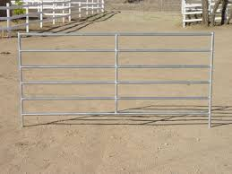Horse Corral Panels 1 7 8 Horse Corral Panel 6 Rail 12 W X 6 H Cactus Horse Corrals