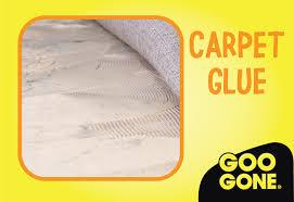 how to remove carpet glue goo gone