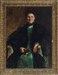 """Smart Museum of Art on Twitter: """"William Merritt Chase's portrait of  @UChicago professor Myra Reynolds is across town at the @DriehausMuseum in  the exhibition 'Gilded Chicago' https://t.co/vEPkSWtoSF…  https://t.co/HiVHyXkycj"""""""