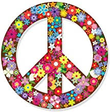 Amazon Com Peace Sign Decals For Cars