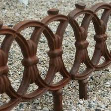 Cast Iron Lawn Edging Lawn Edging Fancy Fence Cottage Front Yard