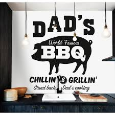 Wall Decals Thewonderwalls Bbq Wall Stickers Decals
