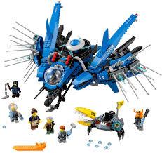 Amazon.com: LEGO Ninjago Movie Lightning Jet 70614 Building Kit ...