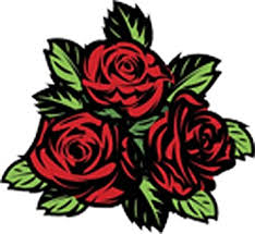 Amazon Com Beautiful Romantic Floral Red Roses Arrangement Cartoon 1 Vinyl Decal Sticker All Sizes Arts Crafts Sewing