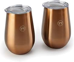 copper double wall drink tumbler