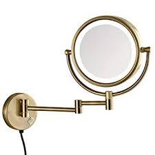 gurun led lighted makeup mirror wall